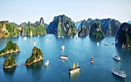 HA LONG BAY 2 DAYS - 1 NIGHT SLEEP ON THE BOAT