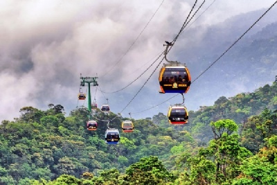 SAPA TREKKING - FANSIPAN - CABLE CAR 2 DAYS - 3 NIGHTS BY TRAIN