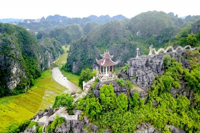 PRIVATE BAI DINH PAGODA - TRANG AN - MUA CAVE - AMAZING VIEW 1 DAY TOUR